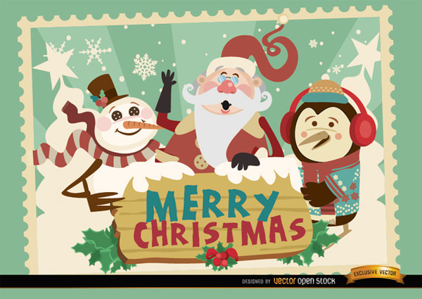 chrismas card templates