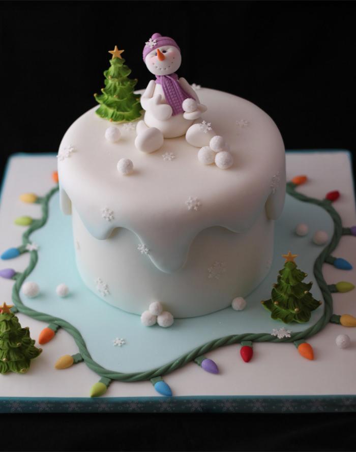 christmas cake designs