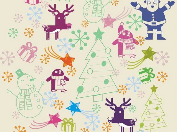 christmas-pattern-free-vectors