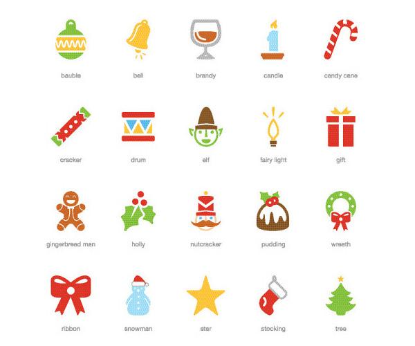 festive-christmas-icon-set