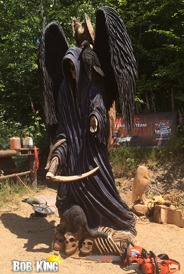 Chainsaw Carving by Bob King
