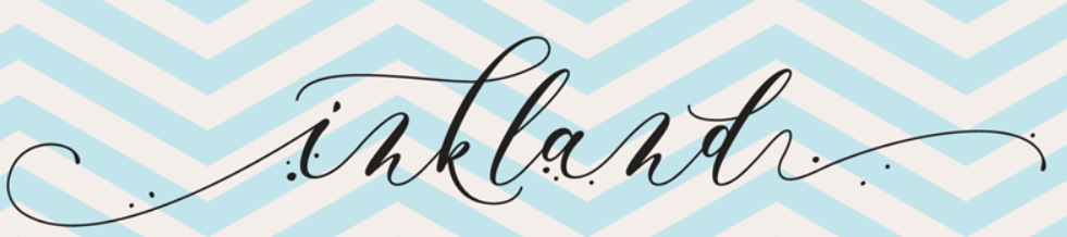 An example of the Inkland font.