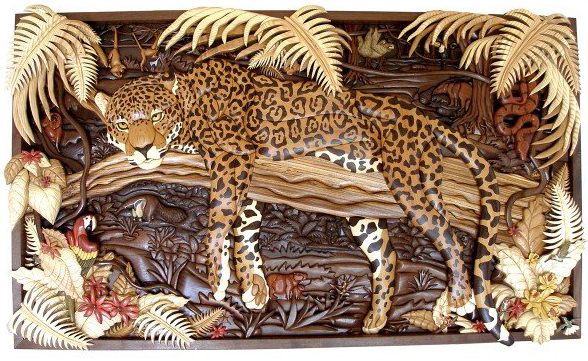Intarsia Mural by Kathy Wise
