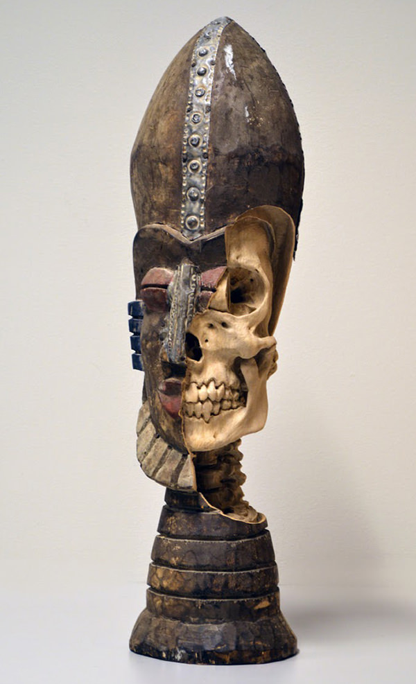 Re-carved Sculpture by Maskull Lasserre