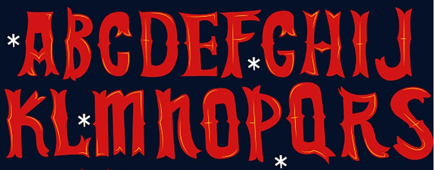 The Christmas Time font.
