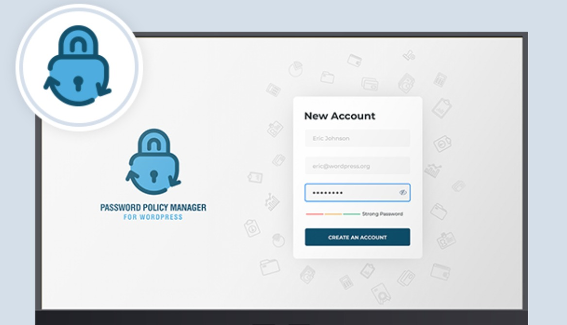 The Password Policy Manager plugin.