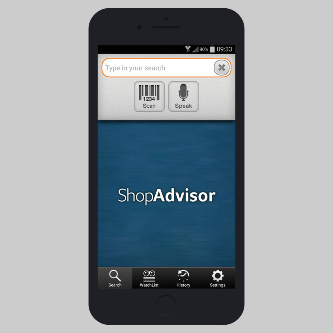 shopadvisor searching