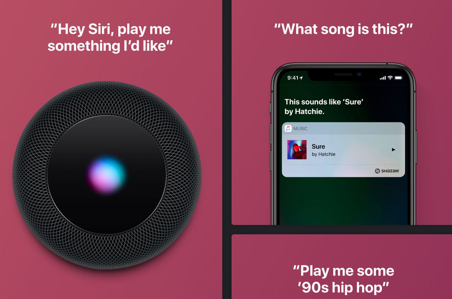 Voice search with Siri
