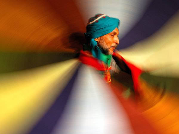 Whirling Dervish by Nour Elrefai