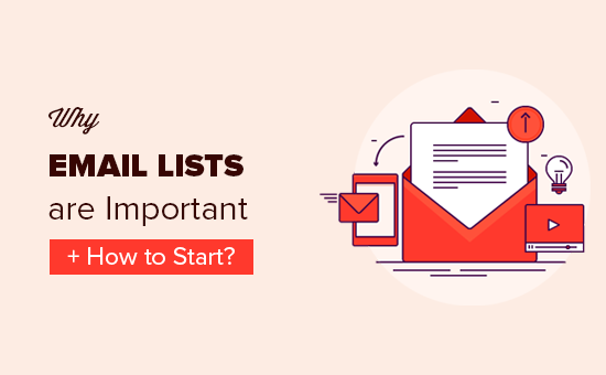 Why building an email list is so important