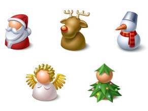Xmas buddy icons
