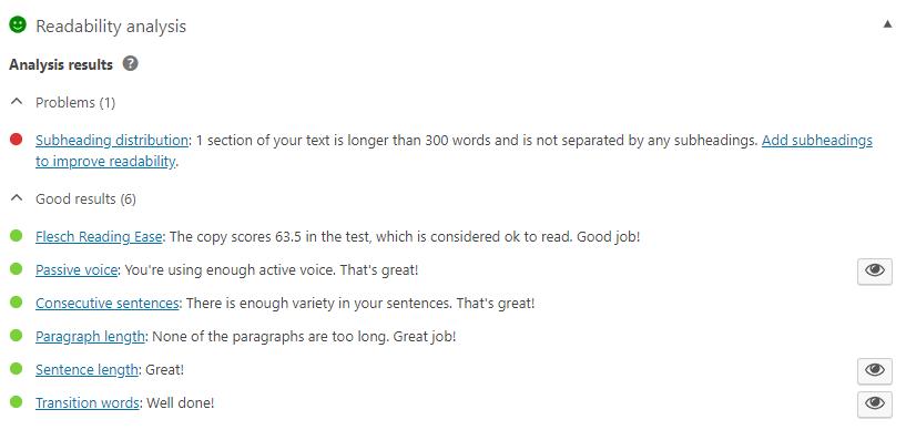 Readability Score