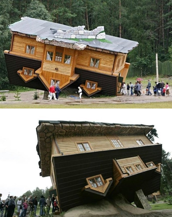 Upside Down Polish Cabin