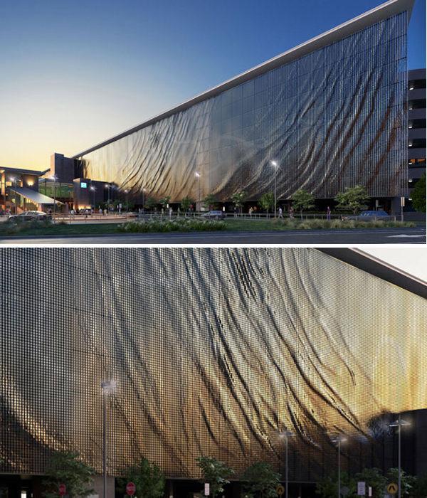 Kinetic Façade Brisbane Car Park