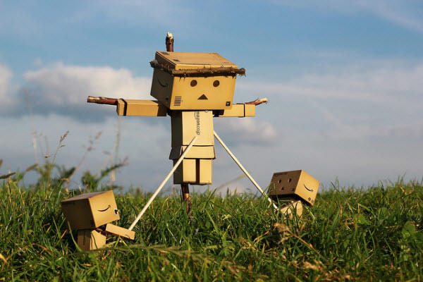 crucified danbo