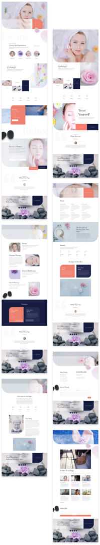 divi day spa layout pack