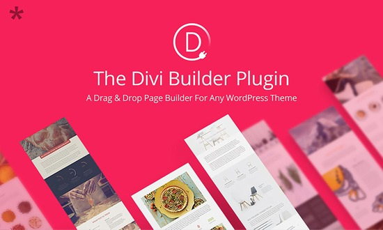 Divi Builder Drag and Drop WordPress Page Builder plugin