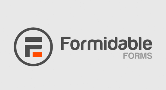 Formidable Forms Advanced WordPress form plugin