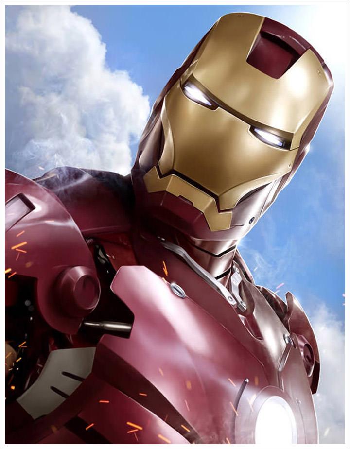 Iron Man Fanart Tutorial