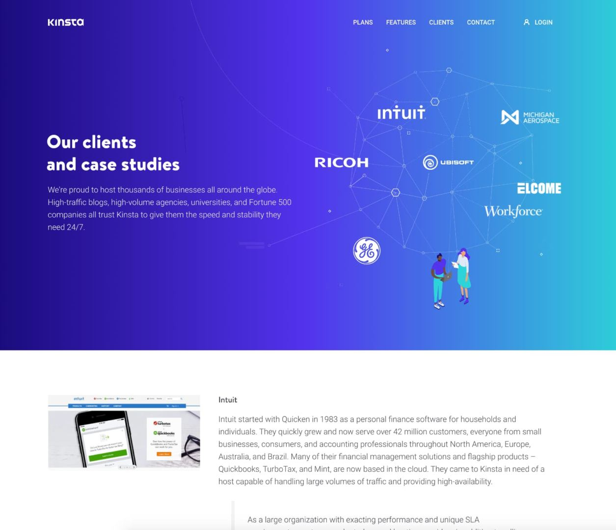 Kinsta case study example