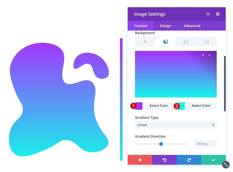 shaped image overlays