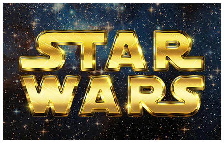 Create A Retro Star wars effect
