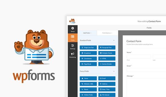 WPForms Best WordPress Contact form plugin