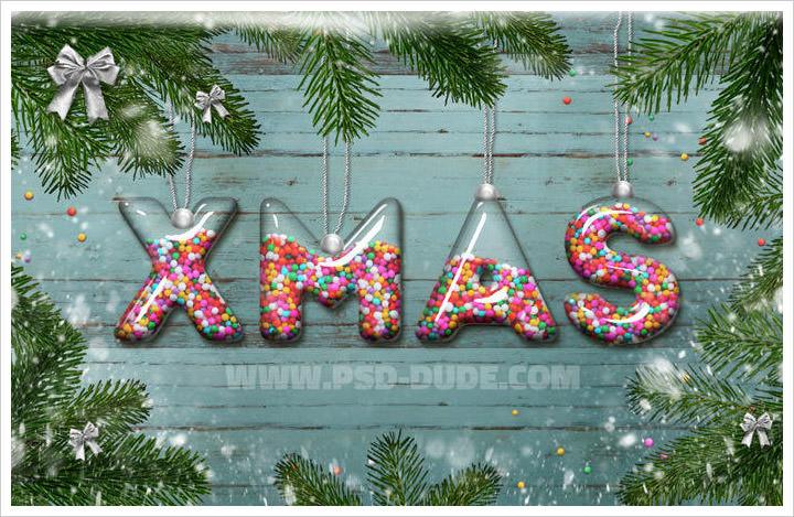 Christmas Glass Ball Tutorial