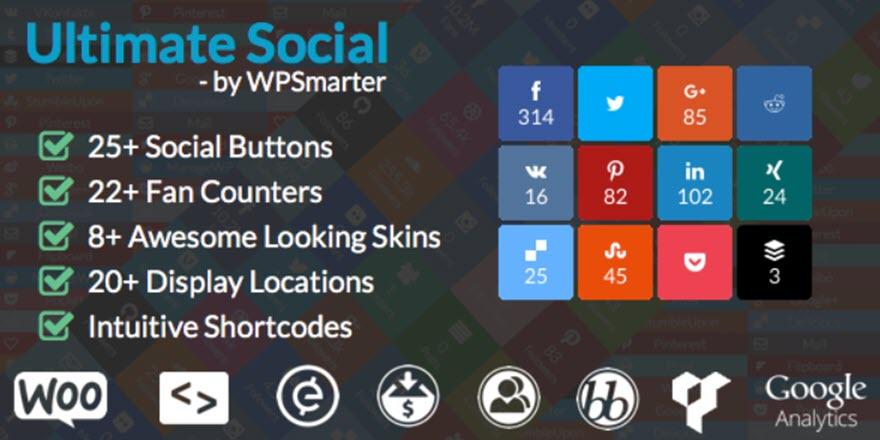 WooCommerce Social Media Plugins
