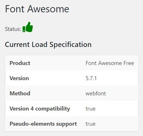 Font Awesome WordPress