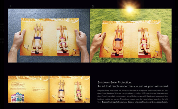double spread magazine ads