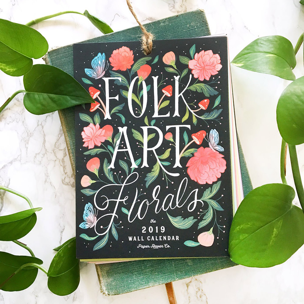 Florals Illustrated Calendar