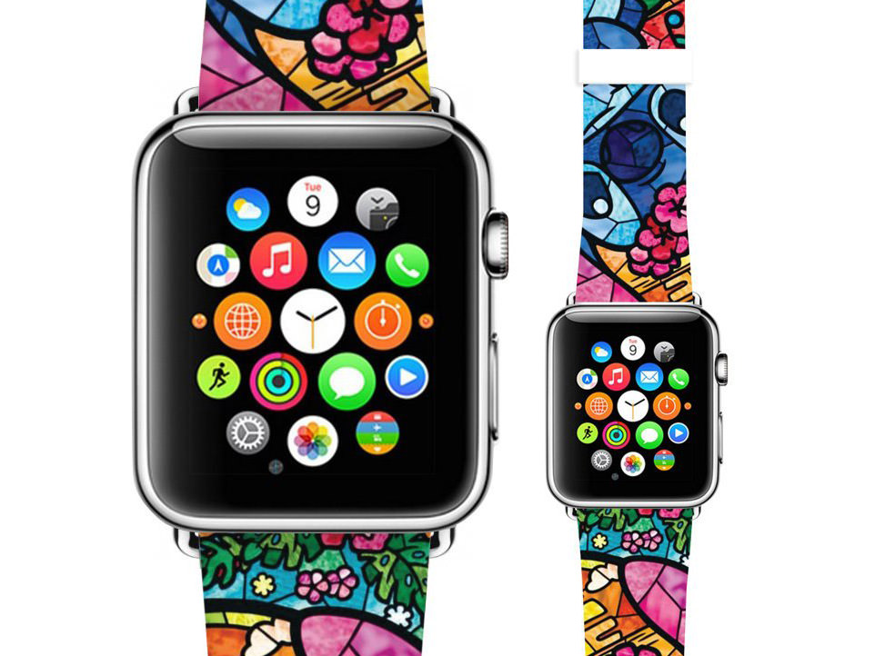 Mosaic Apple watch band