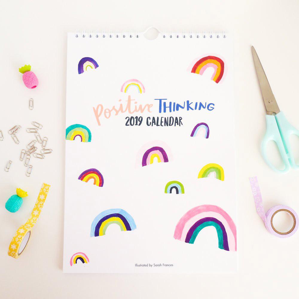 Positive Thinking 2019 Calendar