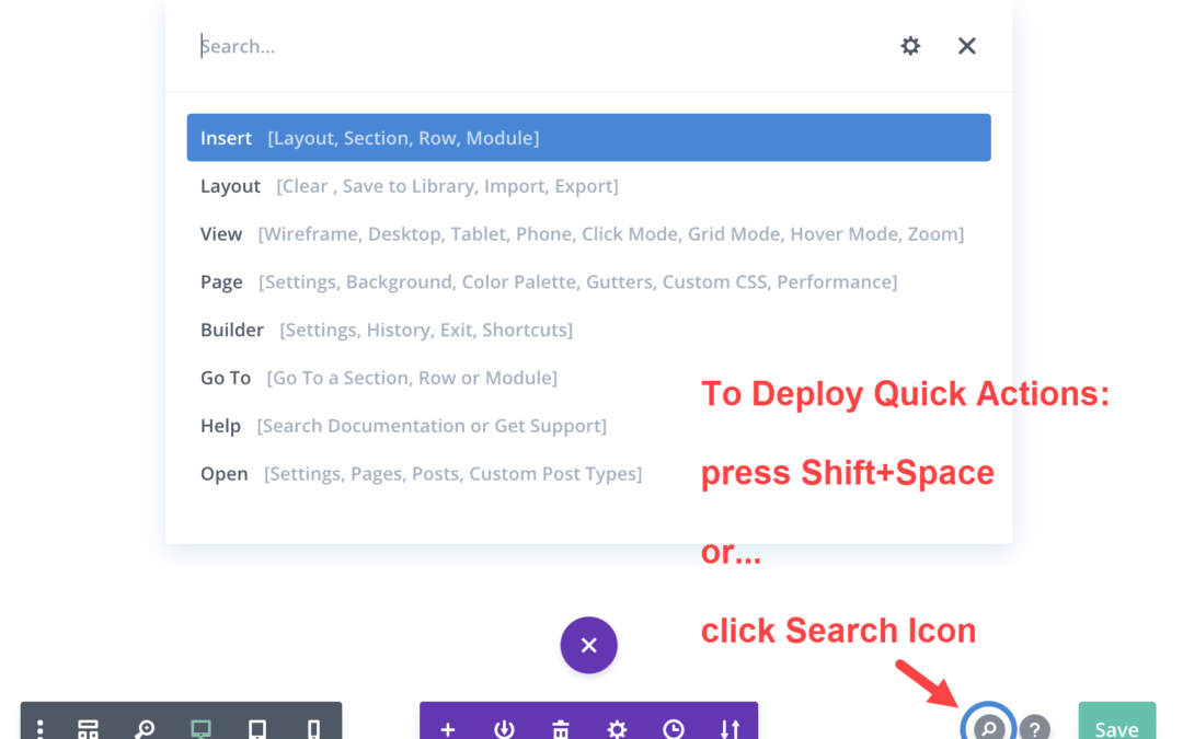7 Tips for Using Divi Quick Actions when Building a Website