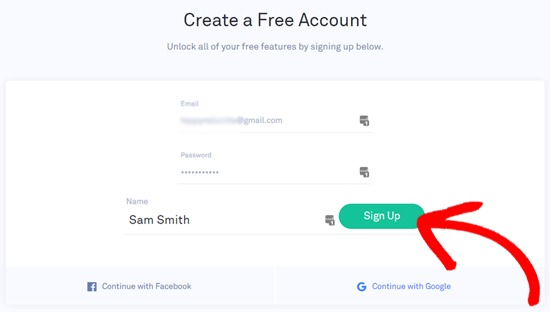 Sign Up for Grammarly Account