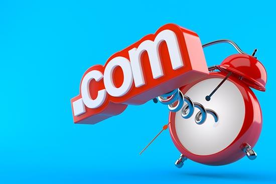 Stick to the .com extension