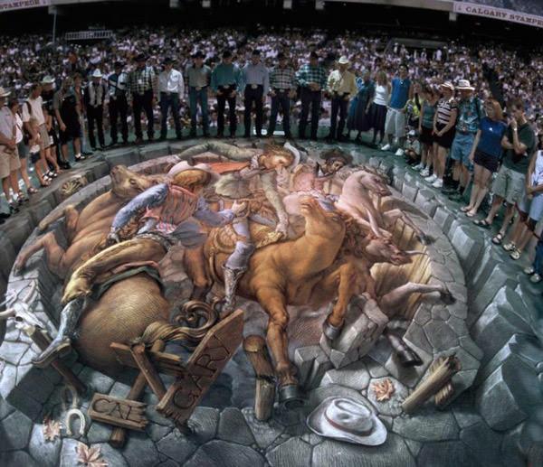 Horses 3d art