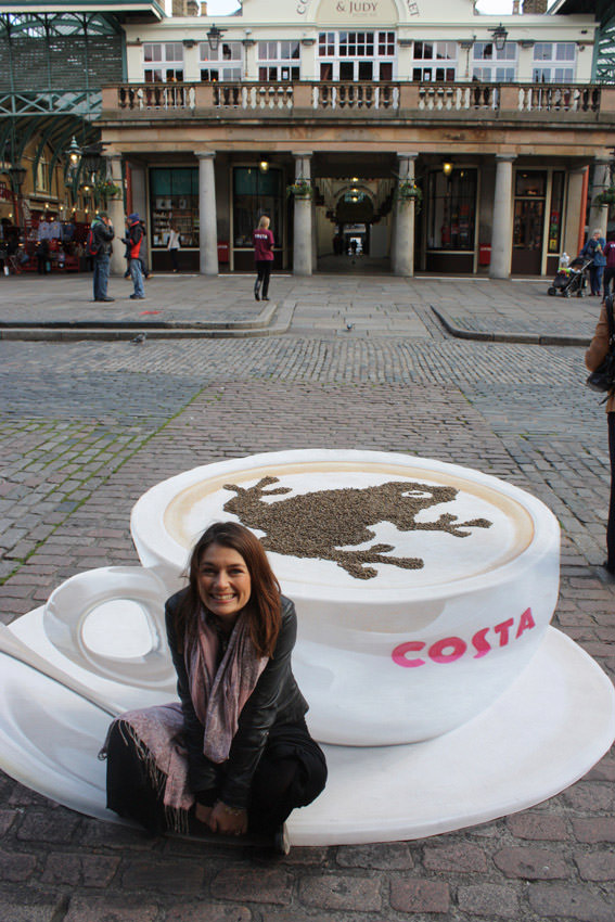 Costa - Covent Garden 3d art
