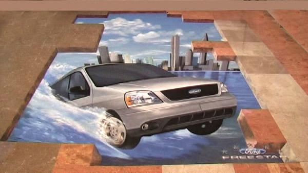 Ford Mexico 3d art