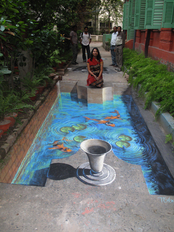 Water In The Way 3d art