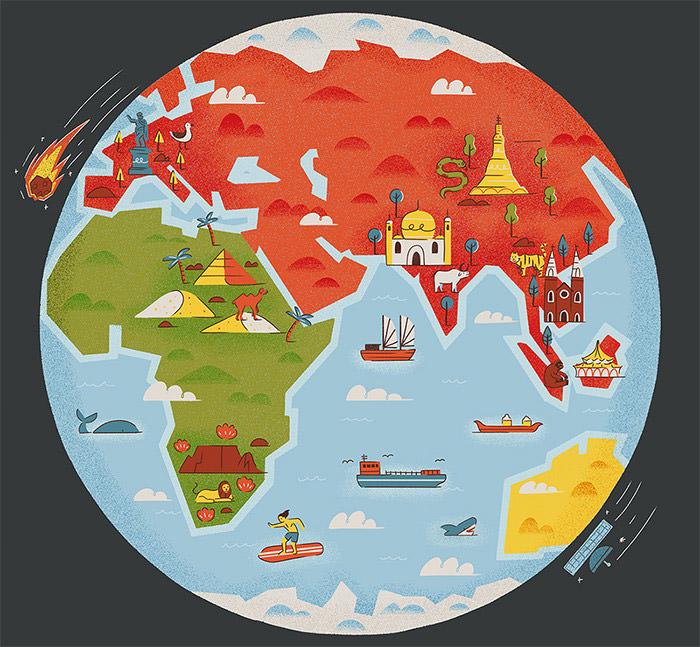 Across the Globe