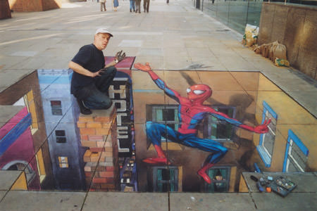Spiderman 3d art