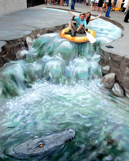 Crazy river 3d art