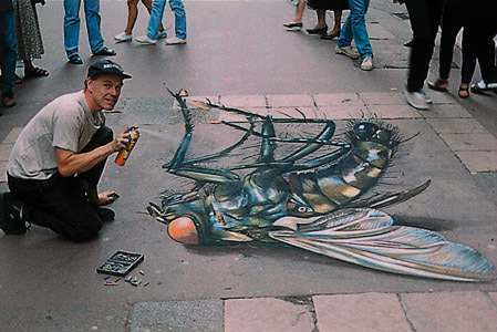 world's biggest fly 3d art