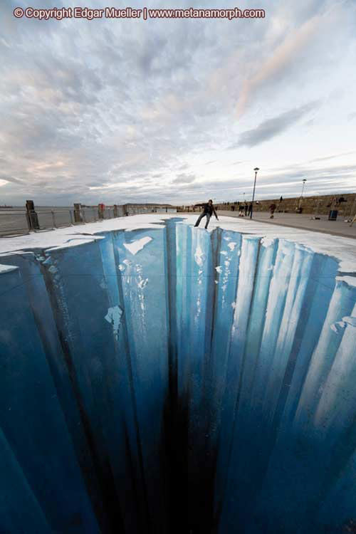 Ice abyss 3d art