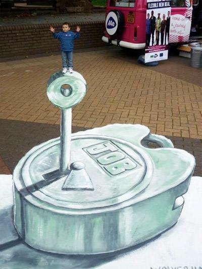 A4e Road Trip 3d art