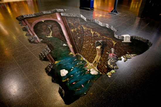 Dirty Sewer 3d art