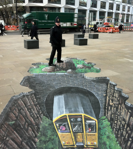 Going underground 3d art