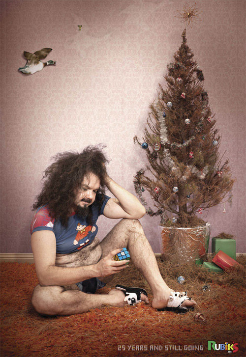Rubik's Cube - 25th Anniversary ad